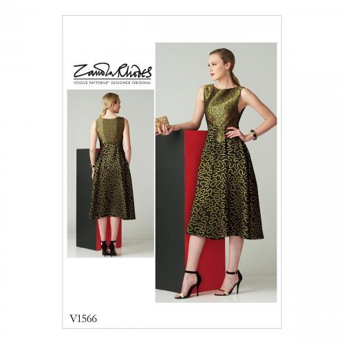 Vogue Tipar rochie V 1566