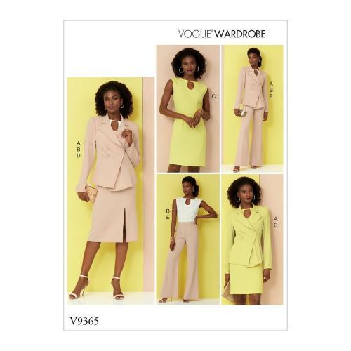Vogue Tipar Combinatii Femei V9365
