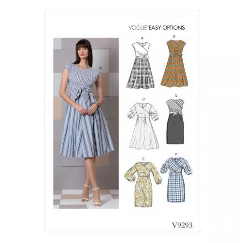 Vogue Tipar rochii casual V 9293