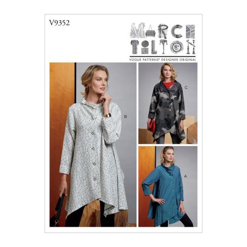 Vogue Tipar jacheta V9352