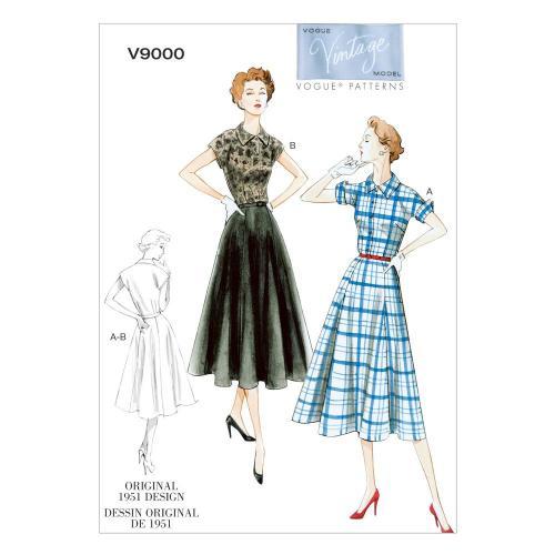 Vogue Tipar rochie si tipar curea