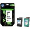 HP 350/351 Combo-pack Inkjet Print Cartridges (SD412EE)