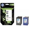 HP 21/22 Combo-pack Inkjet Print Cartridges (SD367AE)