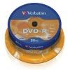 DVD-R Matt Silver, 4.7GB, 16x, 25 bucati (43522)