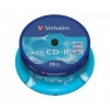Verbatim CD-R AZO Crystal Spindle 25 43352