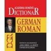 Academia Romana Dictionar German-Roman