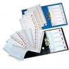 Esselte Index plastic A4 1-10 E100105