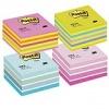 3M Post-it cub adeziv roz pastel 2028P