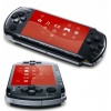 Sony PlayStation Portable Black+ MotorStorm: Arctic Edge (Racing) + Lanyard + Pouch + Strap (9166153)