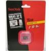 Sandisk microSDHC 16GB SDSDQ-016G-E11M