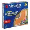 Verbatim CD-RW 4x, 700MB/80 min, Slimcase (43133)