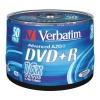 Verbatim DVD+R 16x, 4.7GB, bulk 50 (43550)