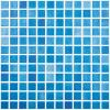VIDREPUR Mozaic albastru Niebla azul Celeste 25x25 mm