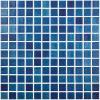 VIDREPUR Mozaic albastru Niebla Azul Marino 25x25 mm