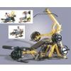 Powertec WB-LS 20 tipuri exercitii libere cu greutati